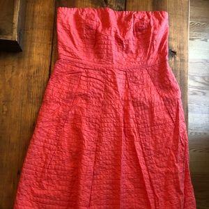 Brand new coral jcrew dress